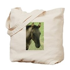 Tote Bag with grulla colt