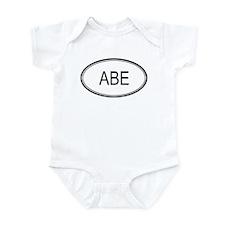 Abe Oval Design Infant Bodysuit