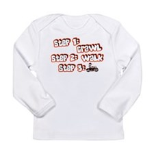Biker Steps Long Sleeve Infant T-Shirt
