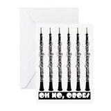 Oh No, Oboes Greeting Cards (Pk of 10)
