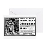 Theda Bara Cleopatra Greeting Cards (Pk of 10)