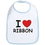 I love ribbon Bib