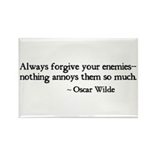 Forgive Your Enemies Rectangle Magnet