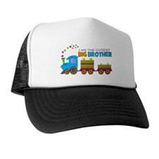 I am the Cutest Big Brother - Train Trucker Hat