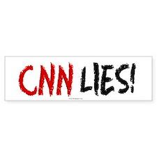 CNN Lies Bumper Bumper Sticker