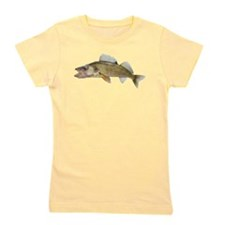 walleye Girl's Tee