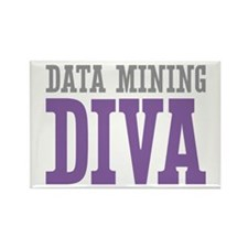 Data Mining DIVA Rectangle Magnet (100 pack)
