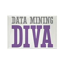 Data Mining DIVA Rectangle Magnet (10 pack)