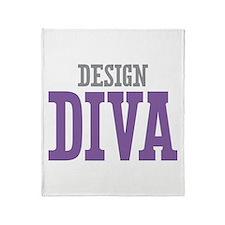 Design DIVA Throw Blanket