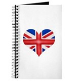 British Flag Heart Journal