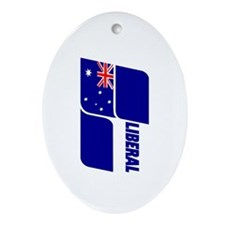 Liberal Party 2013 Ornament (Oval)