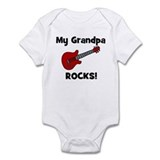 My Grandpa Rocks! (guitar) Infant Bodysuit