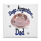 Dogo Dad Tile Coaster