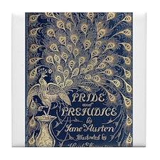 Pride And Prejudice Tile Coaster