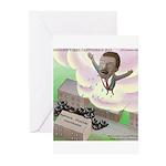 MLK Cries Greeting Cards (Pk of 10)