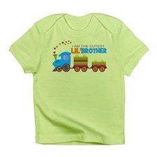 Cutest Lil Brother - Train Infant T-Shirt