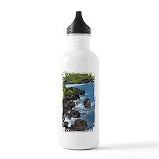 Maui coastline Sports Water Bottle