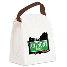Anthony Ave Canvas Lunch Bag