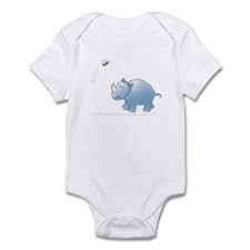 Rhino and Bee Infant Bodysuit