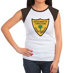 S C Corrections Women's Cap Sleeve T-Shirt