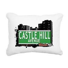 Castle Hill Ave Rectangular Canvas Pillow