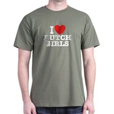 I love Dutch Girls T-Shirt