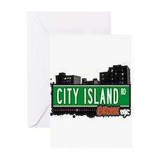 City Island Rd Greeting Card