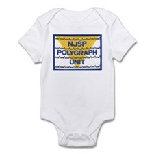 NJSP Polygraph Unit Infant Bodysuit
