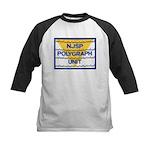 NJSP Polygraph Unit Kids Baseball Jersey