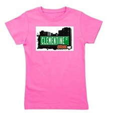 Clementine St Girl's Tee