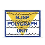 NJSP Polygraph Unit Postcards (Package of 8)