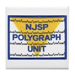 NJSP Polygraph Unit Tile Coaster