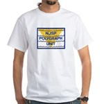 NJSP Polygraph Unit White T-Shirt