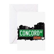 Concord Ave Greeting Card