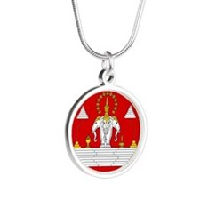 Laotian Royal Coat of Arms Necklaces