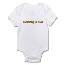 Kids - resisting a rest Infant Bodysuit