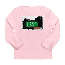 E 222 St Long Sleeve Infant T-Shirt