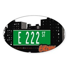 E 222 St Decal