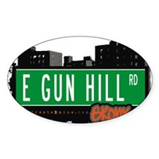 E Gun Hill Rd Decal