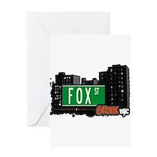 Fox St Greeting Card