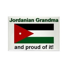 Jordanian Grandma Rectangle Magnet