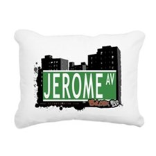 Jerome Ave Rectangular Canvas Pillow