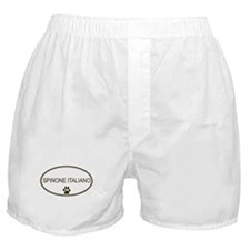 Oval Spinone Italiano Boxer Shorts