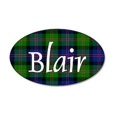 Tartan - Blair 20x12 Oval Wall Decal