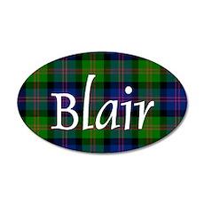 Tartan - Blair 35x21 Oval Wall Decal
