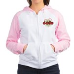 Love With Heart Women's Raglan Hoodie