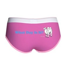 What Day Is It Women's Boy Brief