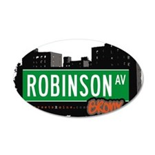 Robinson Ave Wall Decal