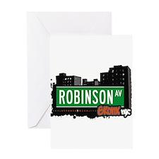 Robinson Ave Greeting Card