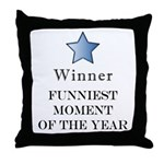 The Comedy Award - Throw Pillow